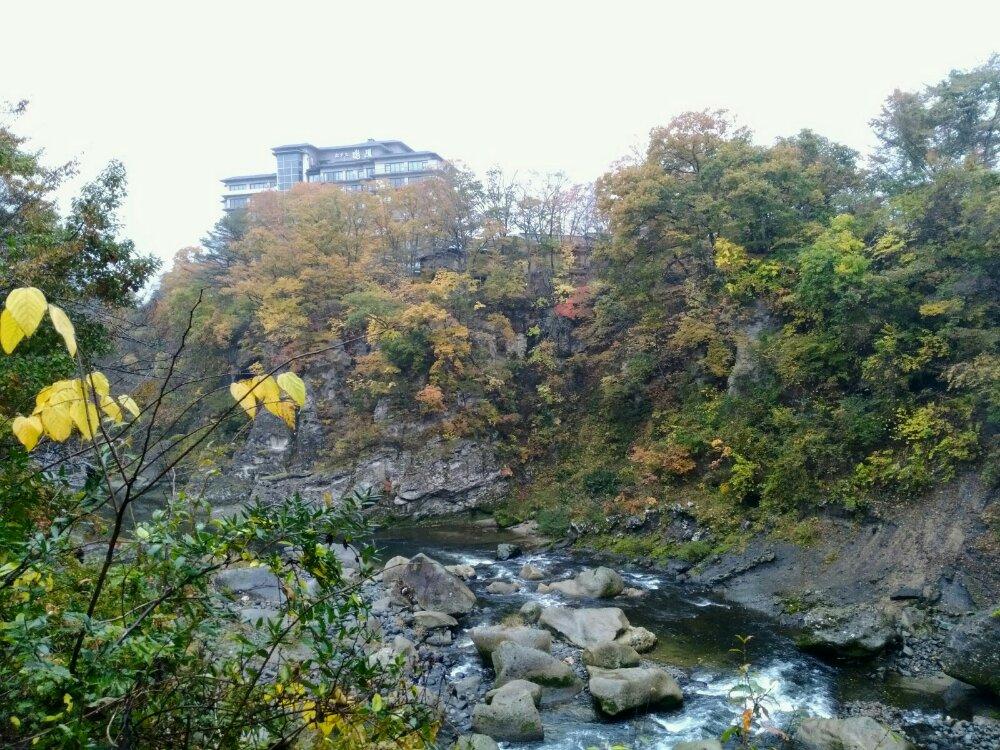 瑞鳳付近の磊々峡