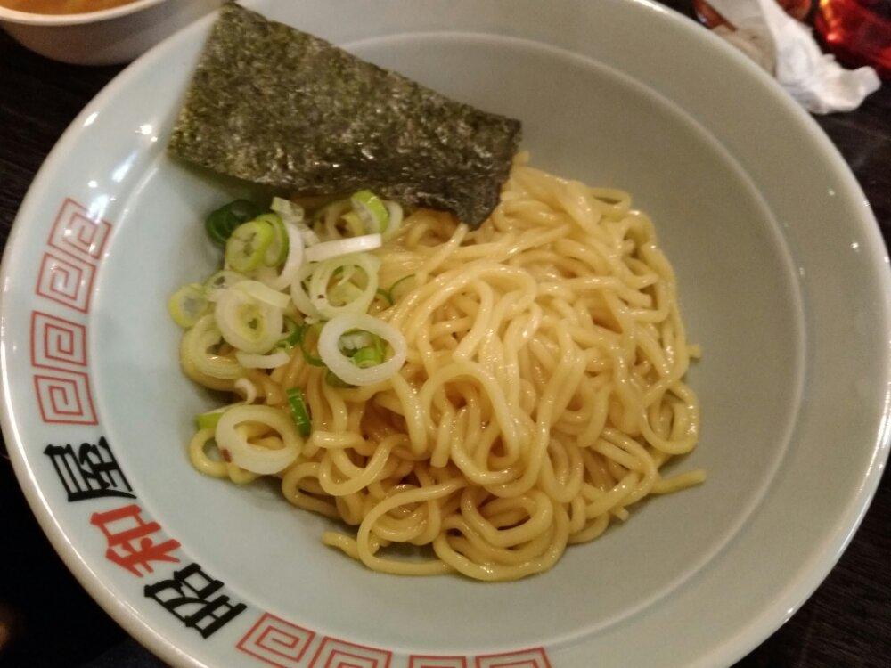 らーめん昭和屋名取店の替え玉(太麺)