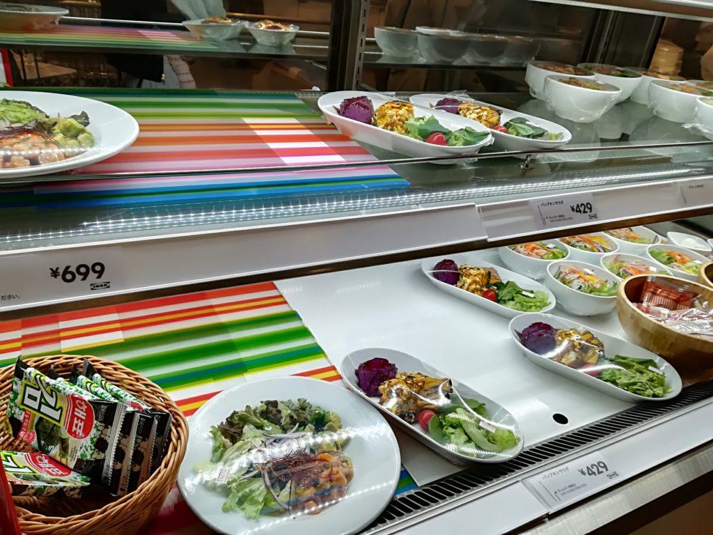 IKEA仙台レストランのサラダ