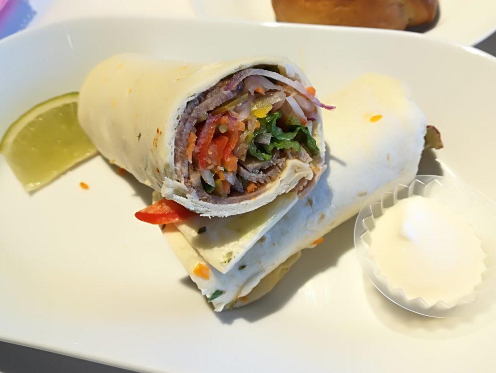 IKEA仙台レストラン ラム肉のラップサンド