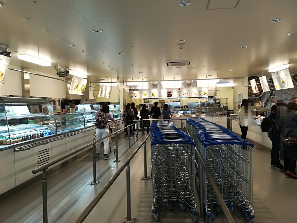 IKEA仙台のフードコート