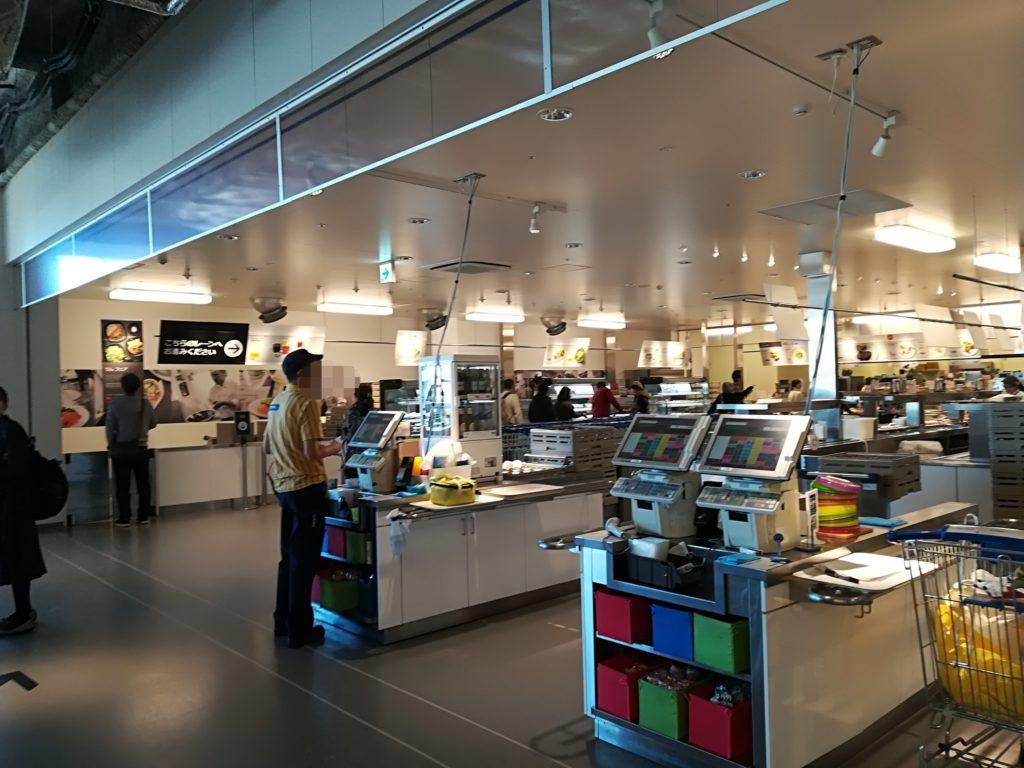 IKEA仙台 レストランのレジ