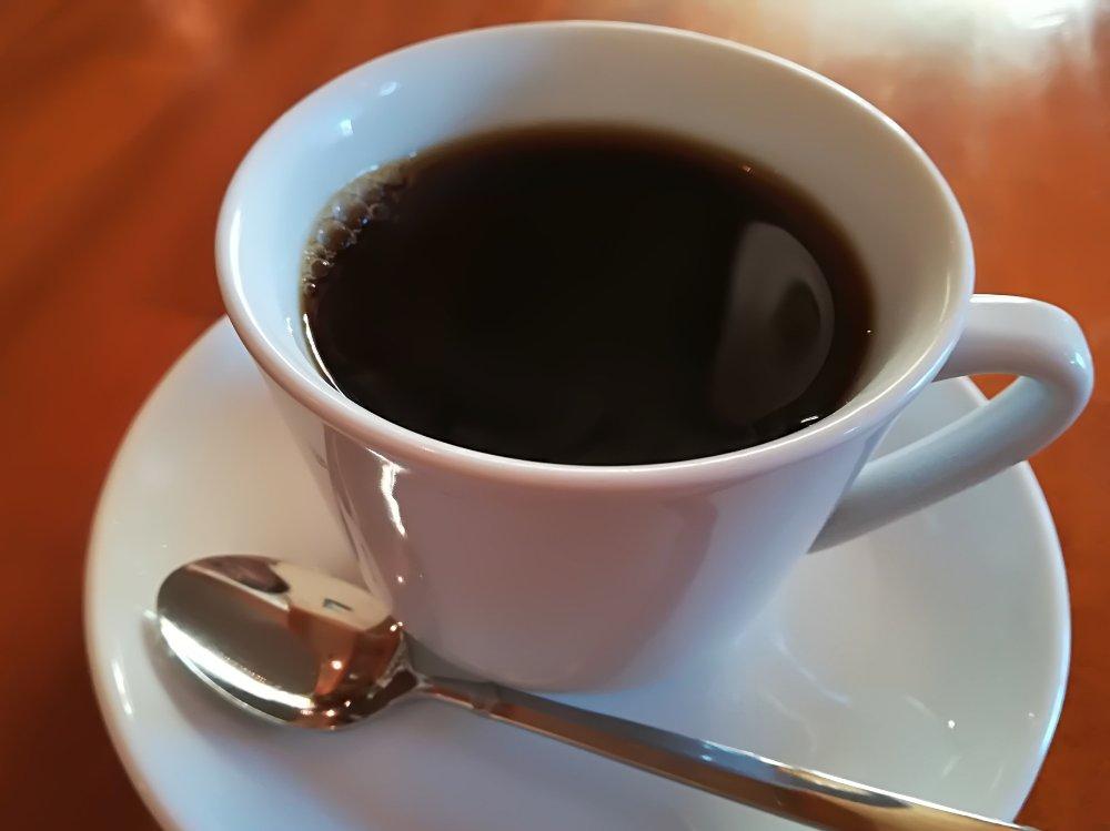 スカのホットコーヒー
