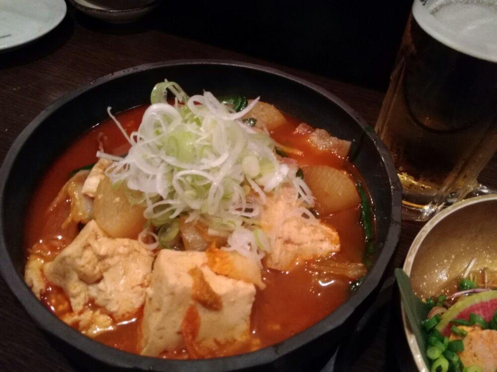 豚チゲ豆腐