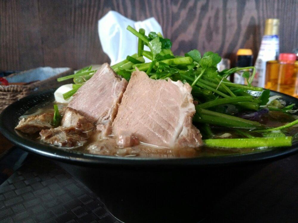 名取市Kitchen比呂の仙台セリラーメン
