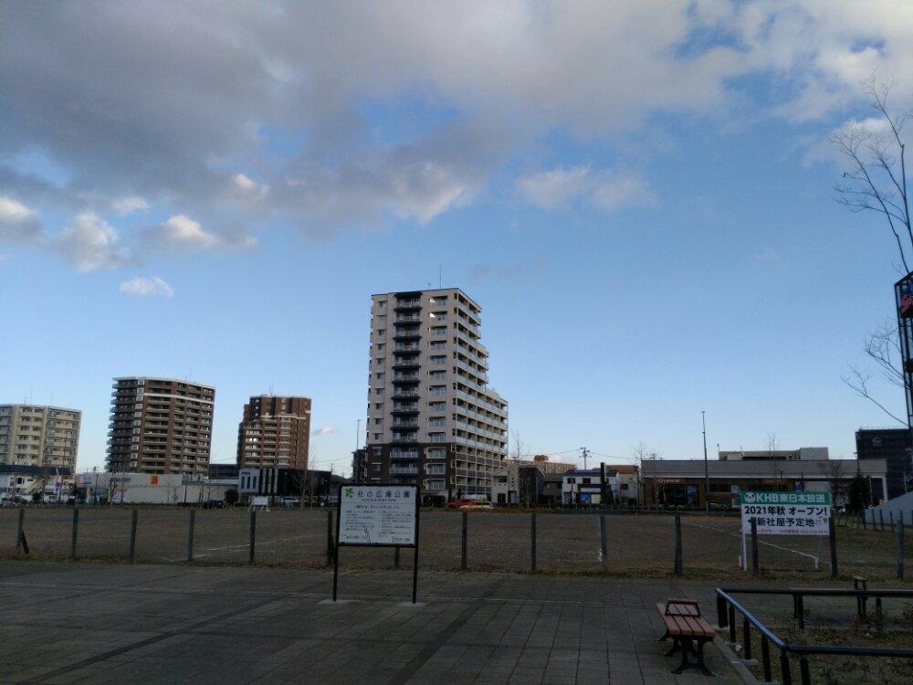 HB東日本放送 新社屋予定地