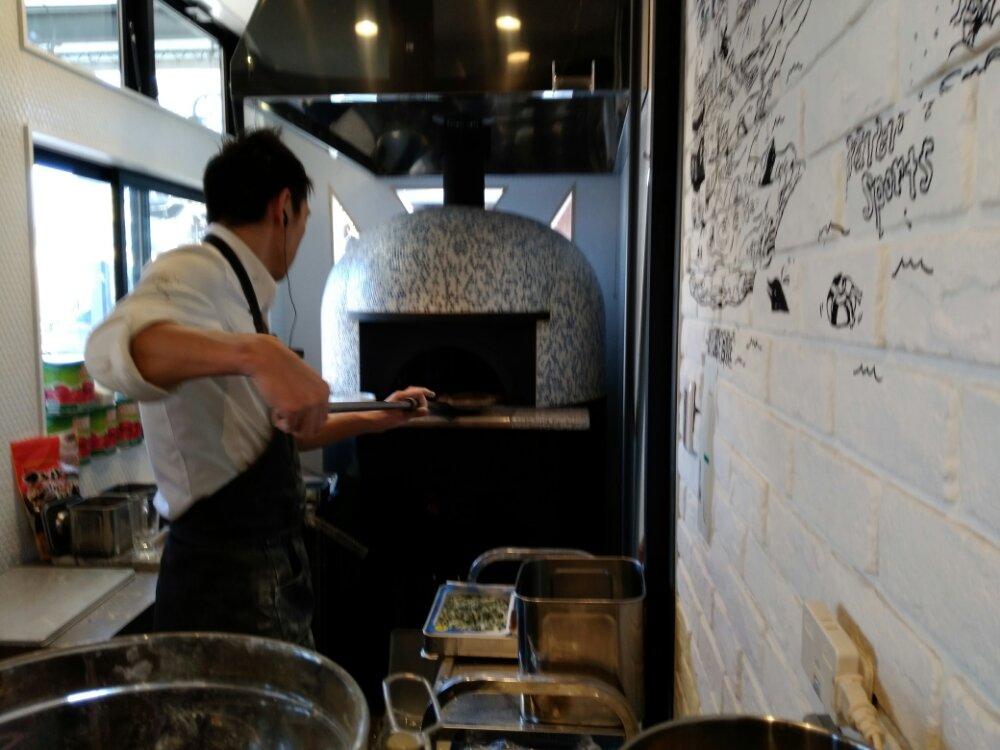 シチノカフェの石窯