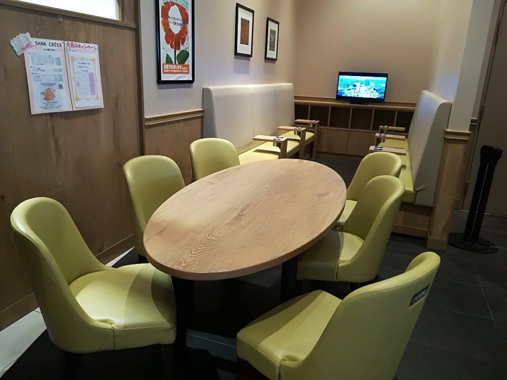 タリーズコーヒーアクロスプラザ富沢西店のキッズルーム