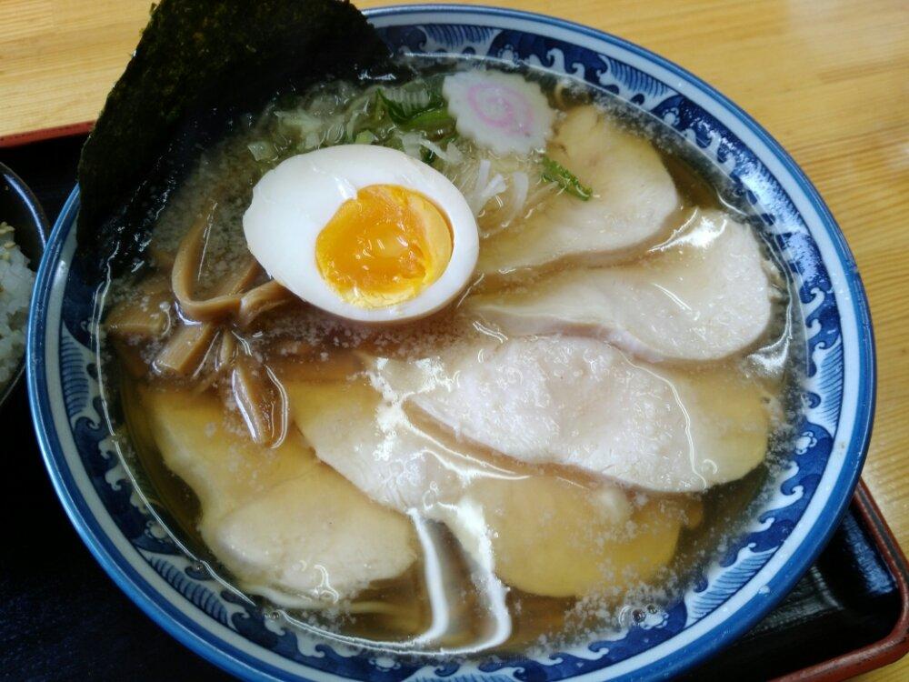 山田庵の鶏中華そば