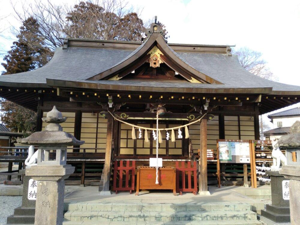 大河原町の嶋舘神社