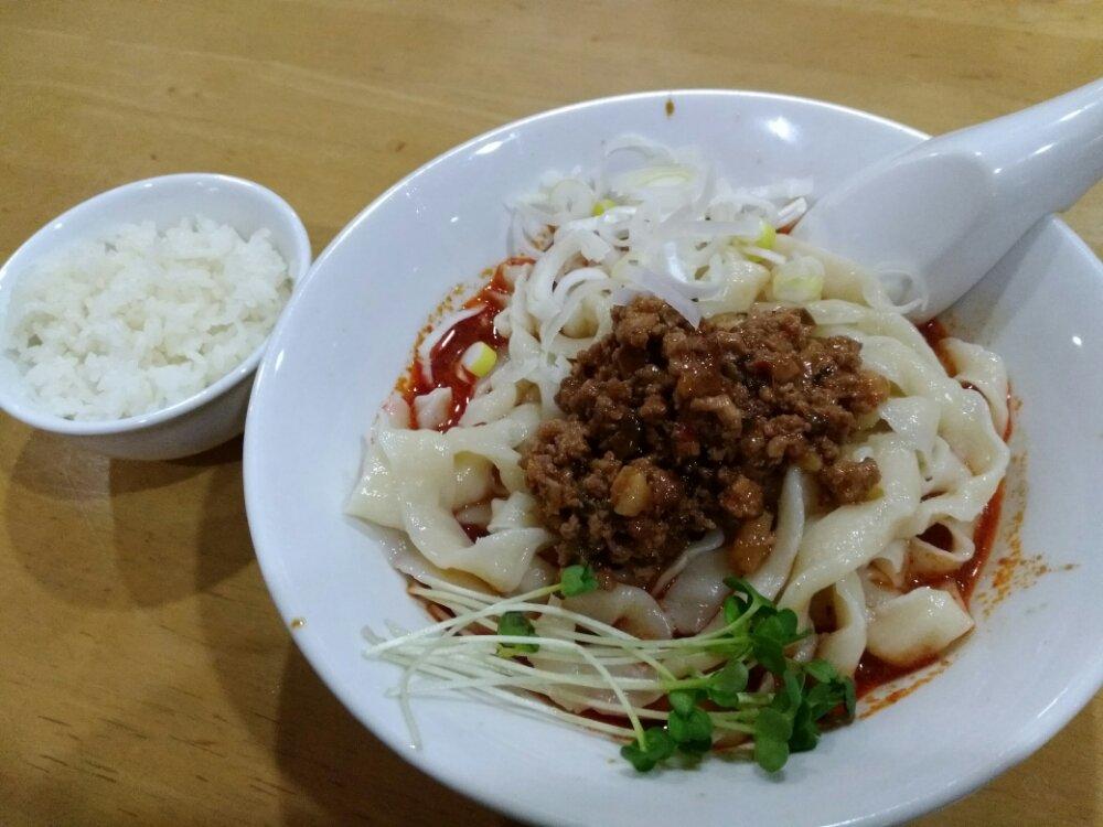 西安刀削麺 大河原店の麻辛刀削麺