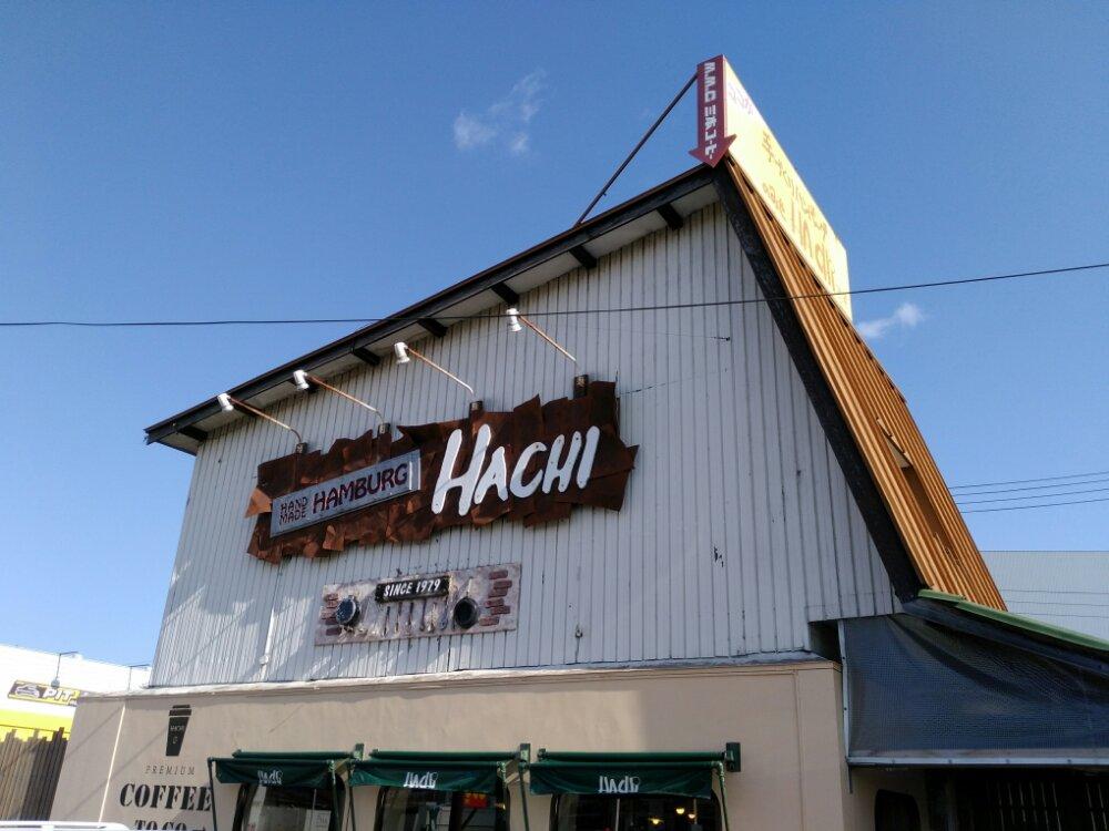 HACHI本店の外観