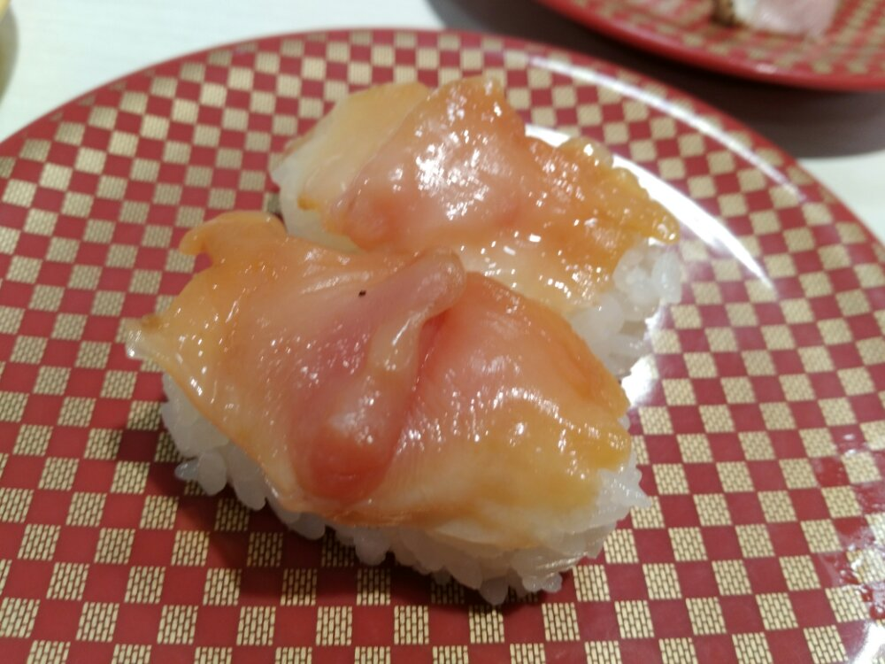 魚べいの赤貝