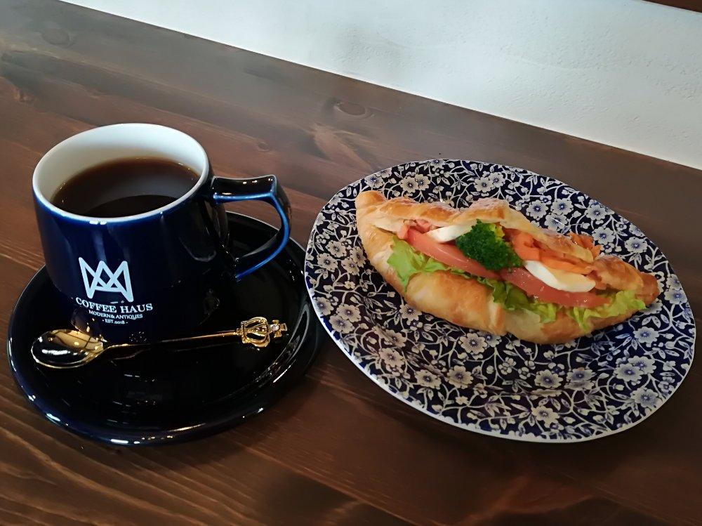 富沢南コーヒーハウスのサンドイッチ