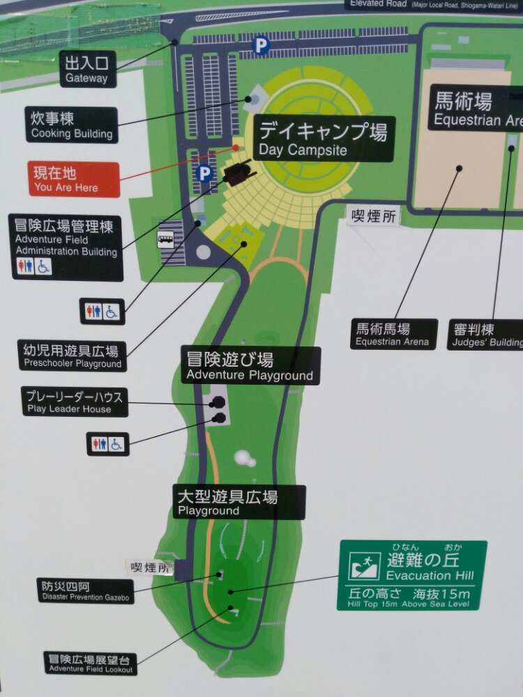 冒険広場のマップ