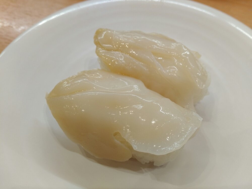 かっぱ寿司 つぶ貝