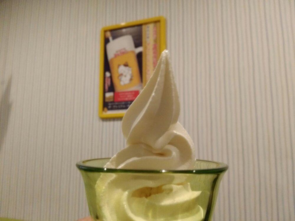カラオケまねきねこのソフトクリーム