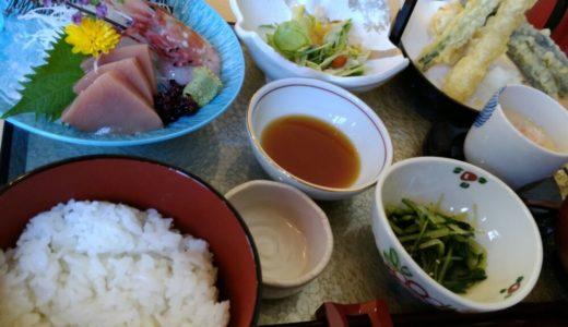 【口コミ】太白区中田 食楽粋蓮の天ぷら刺身御膳