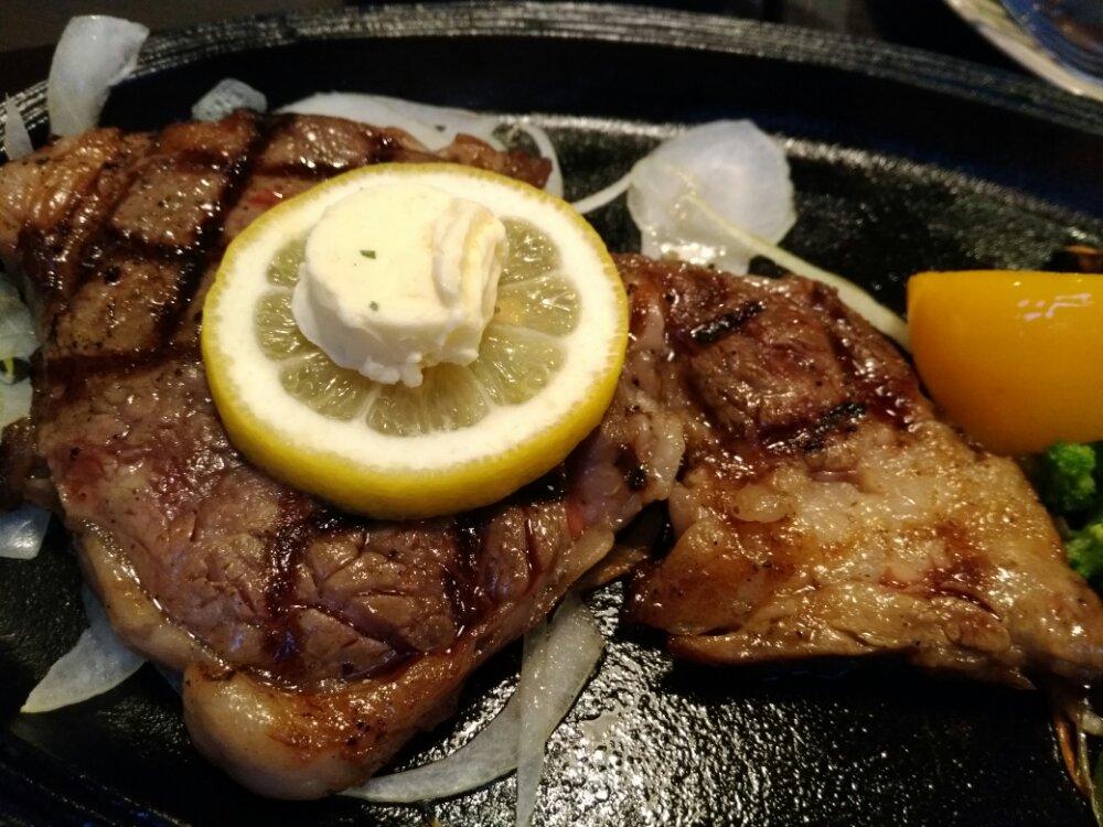 トーブステーキの日高見牛