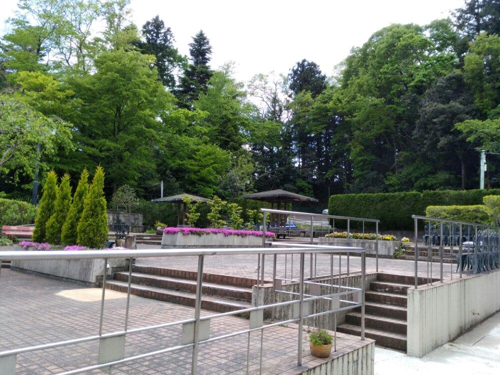 仙台城の庭園