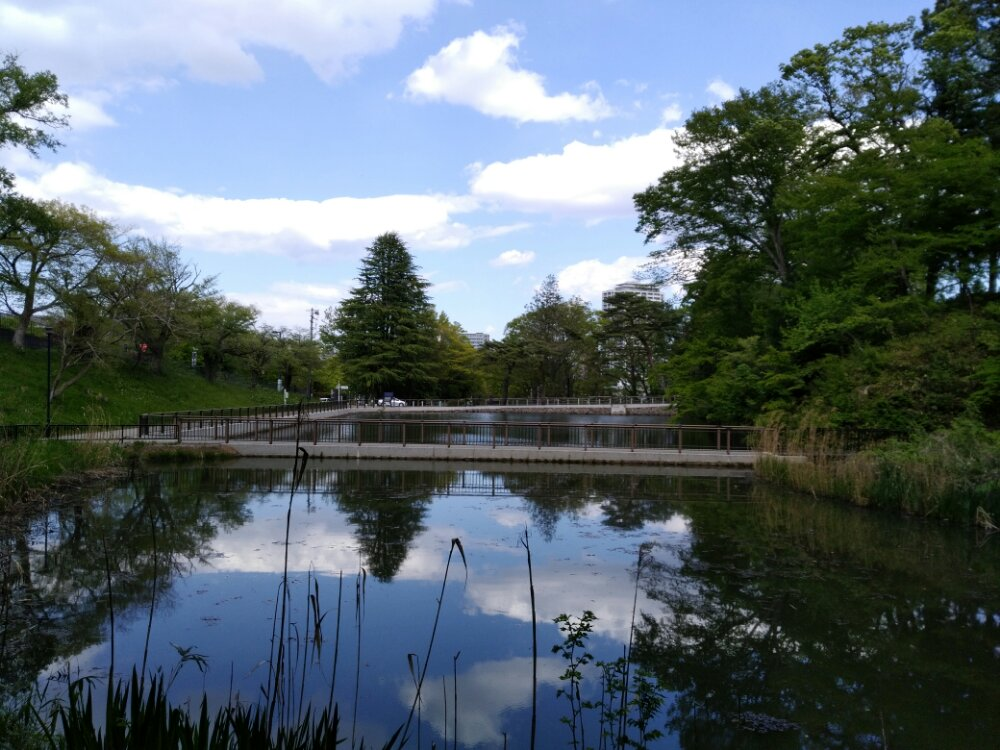 仙台の五色沼