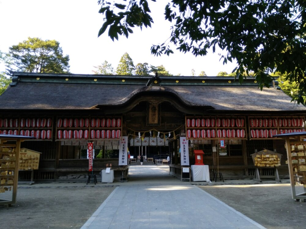 大崎八幡宮の長床