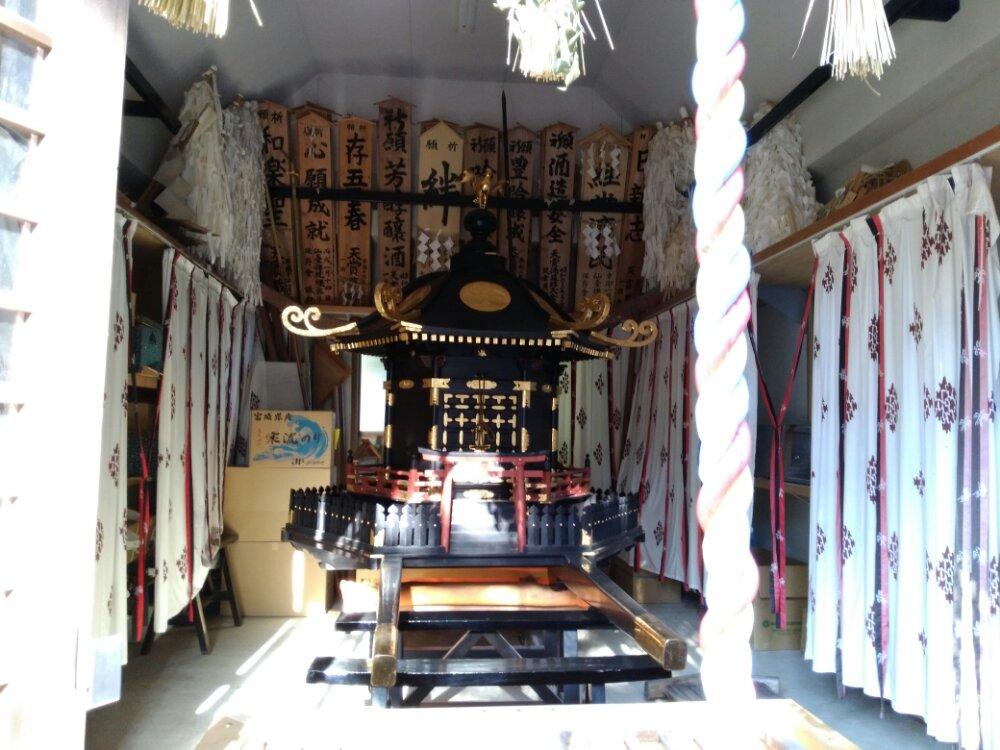 大崎八幡宮の神輿