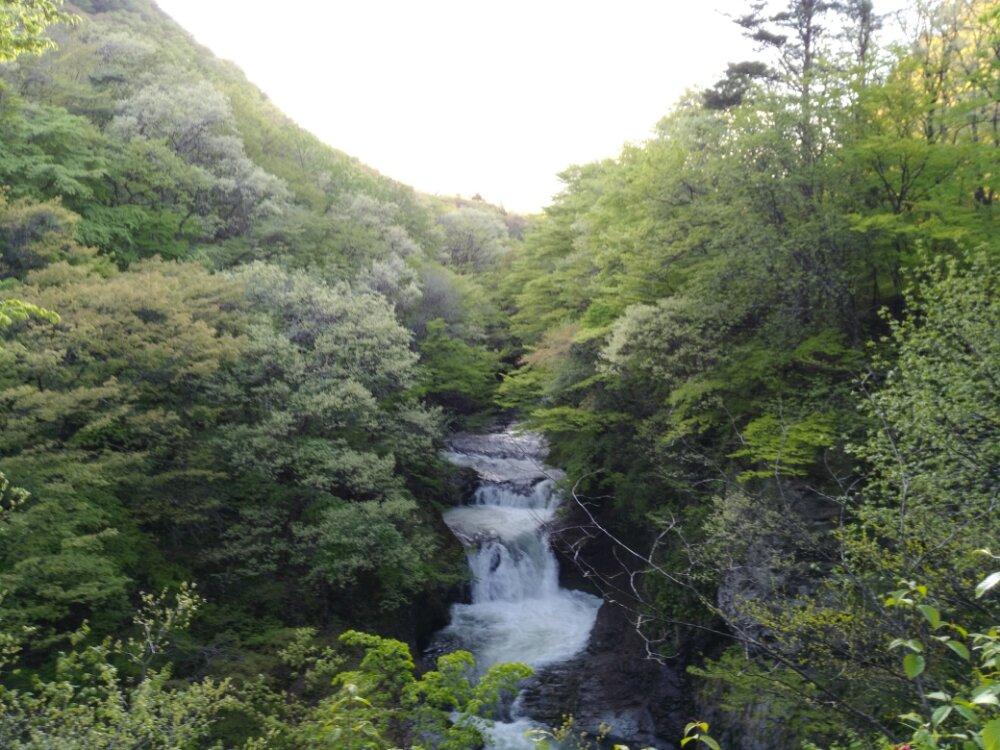 仙台市青葉区作並の鳳鳴四十八滝