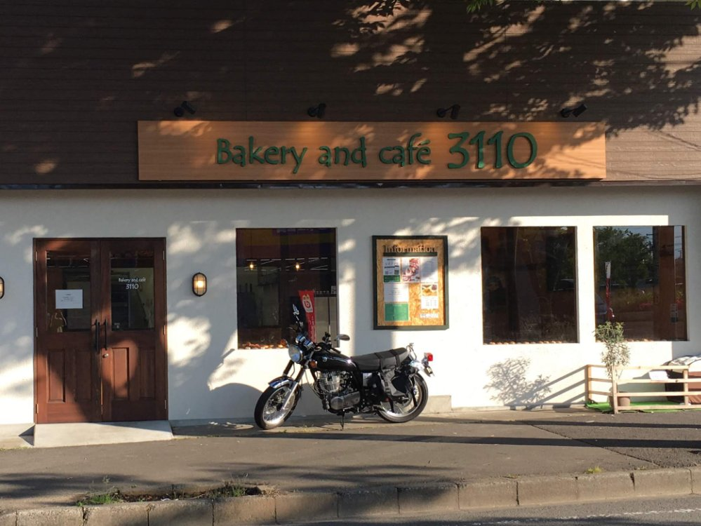 Bakery and café 3110の外観