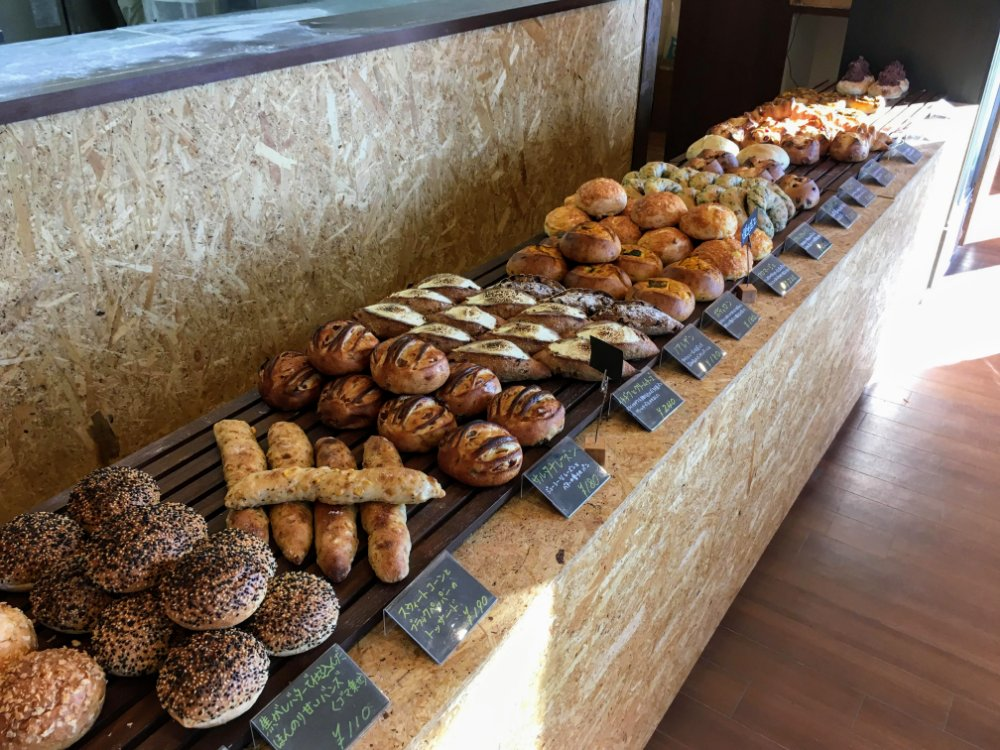 Bakery and café 3110のパン