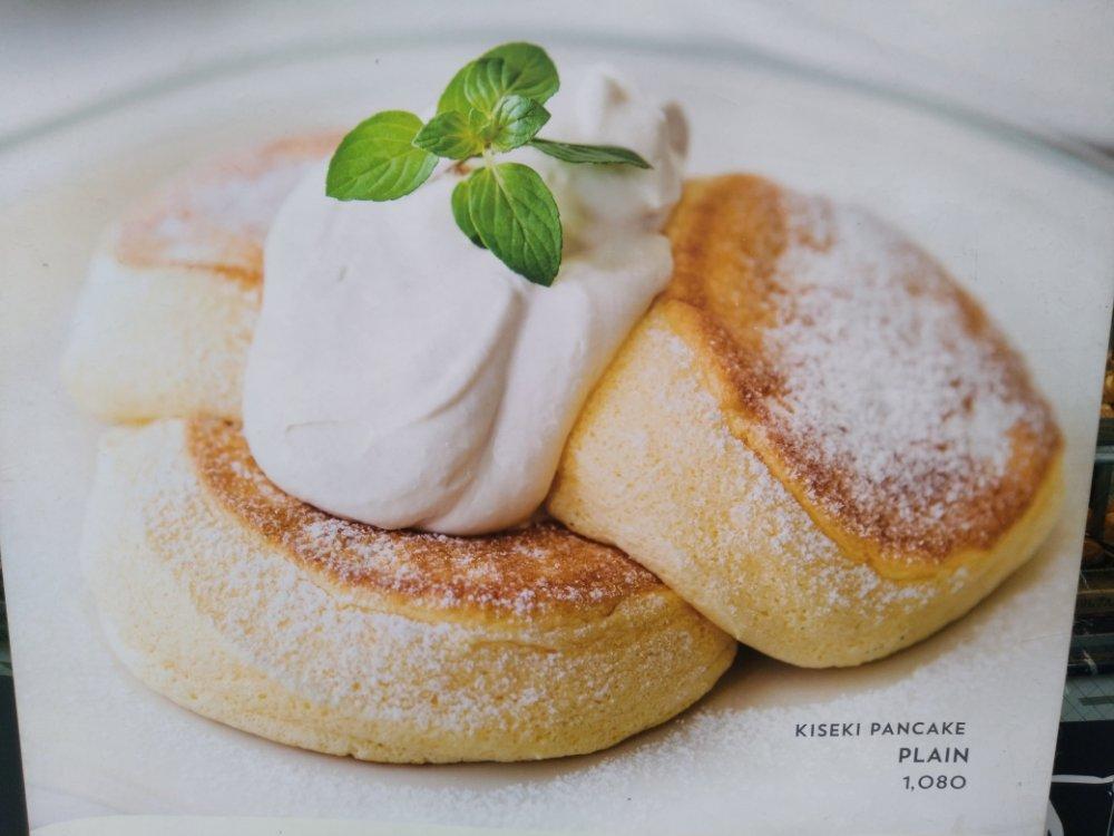 BOUL'ANGE仙台店のパンケーキ