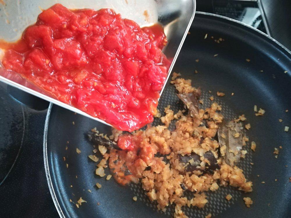 トマトを入れる