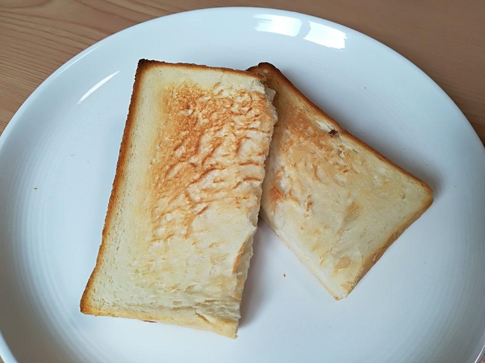 トーストしたプレーン