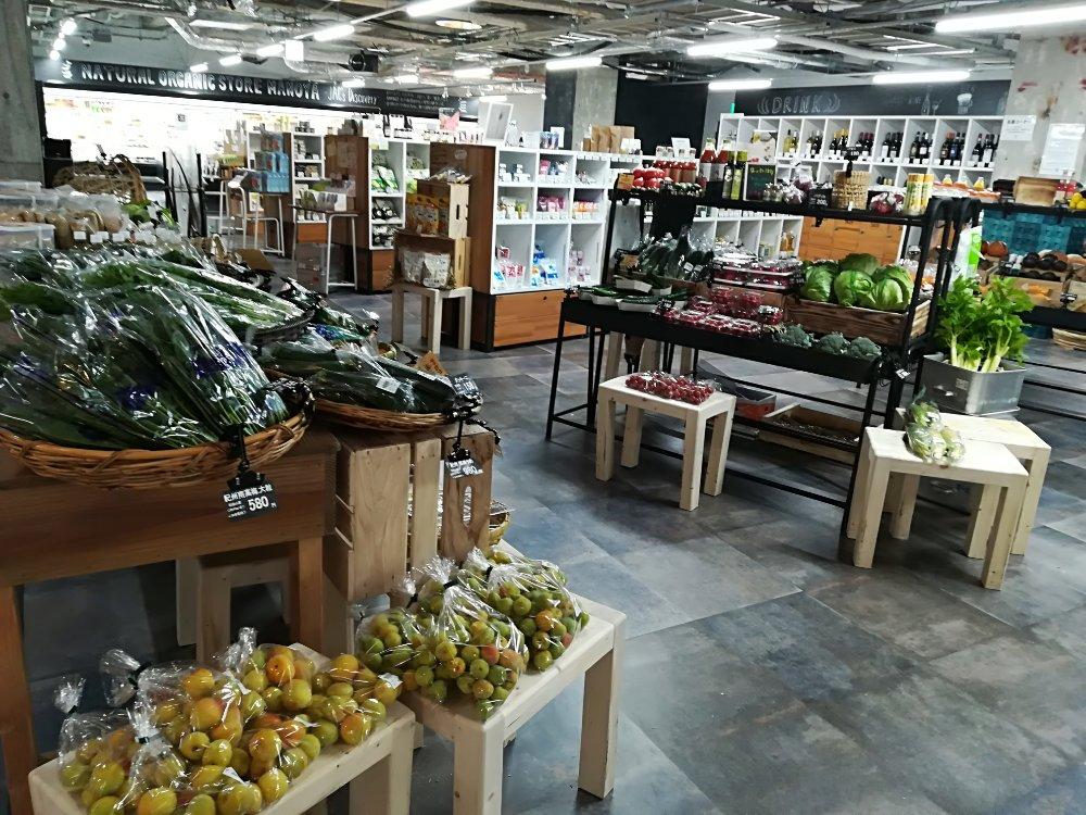 眞野屋(まのや)の生鮮市場マルシェ
