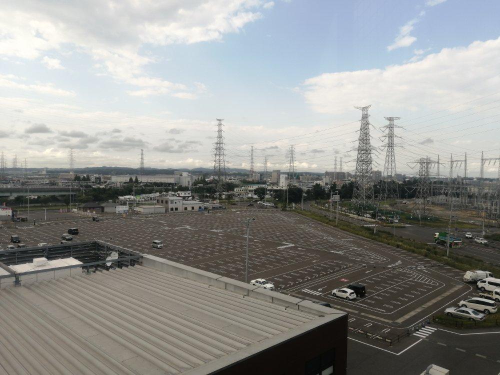 三井アウトレットパーク仙台港の駐車場
