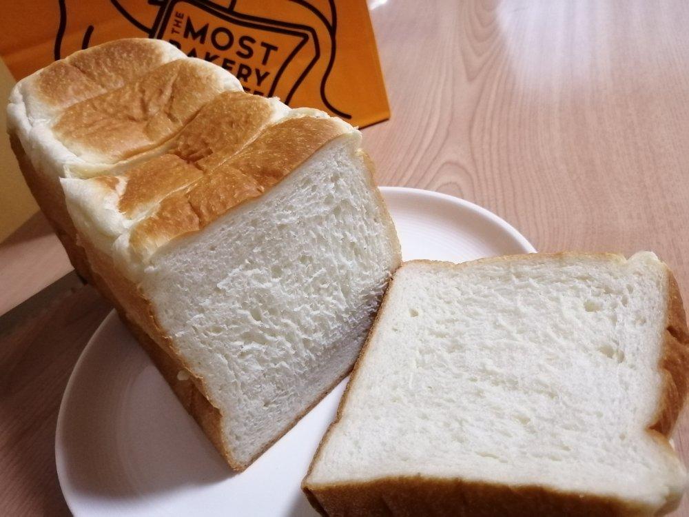 ザモストベーカリーアンドコーヒーの食パン