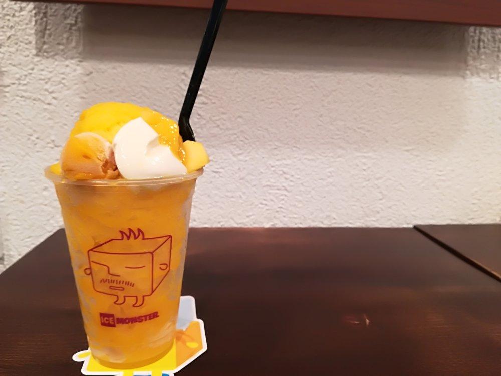 アイスモンスター仙台店のマンゴーかき氷