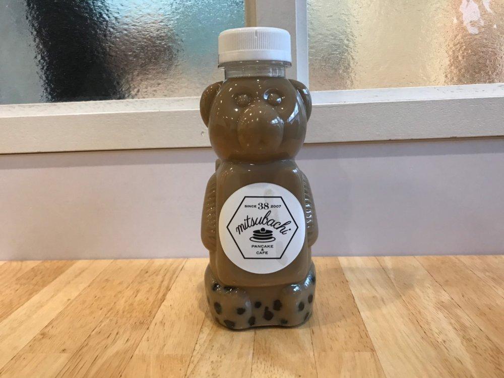 38kitchenの焙煎麦茶タピオカドリンク