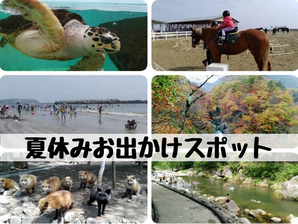 宮城県と仙台の夏休みお出かけスポット