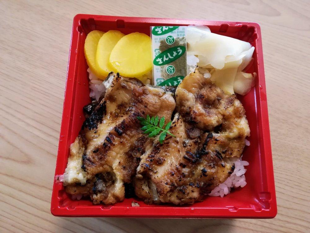 仙台駅エスパル東館 塩竃しらはたの穴子丼