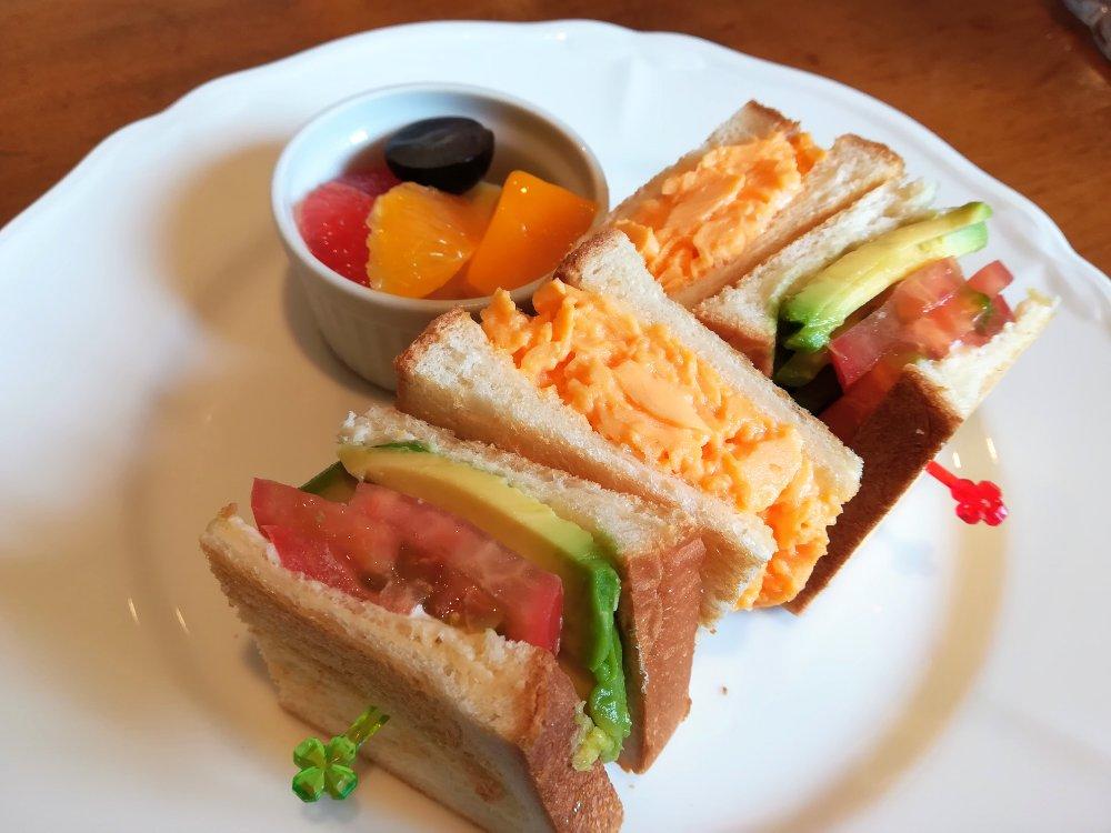 いたがき本店 サンドイッチのハーフセット
