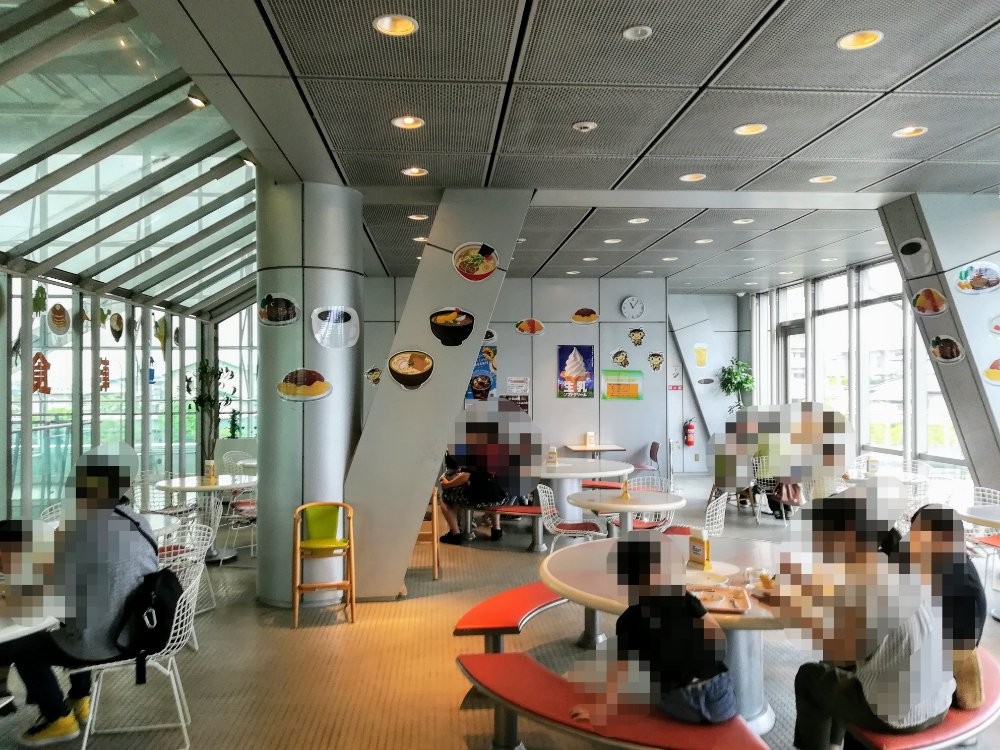仙台市科学館の4階レストラン