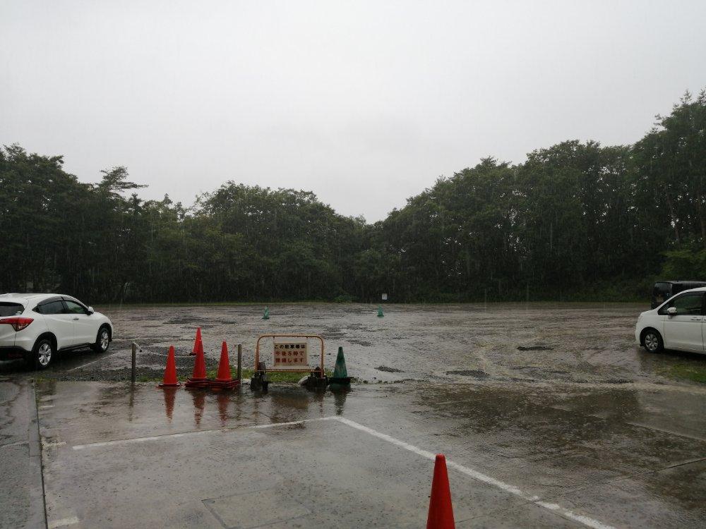 仙台市科学館の第二駐車場