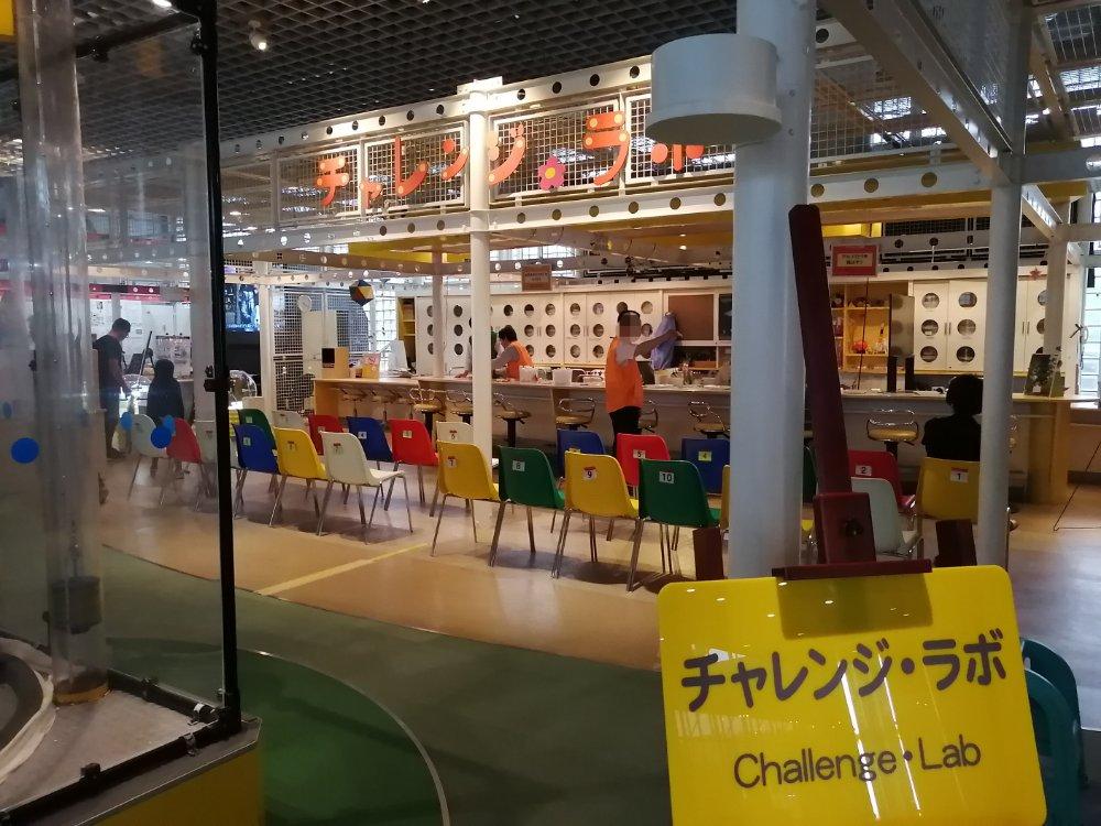 仙台市科学館のチャレンジラボ