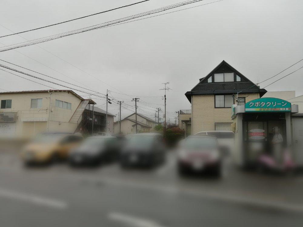 麺王道勝の精米所側第2駐車場