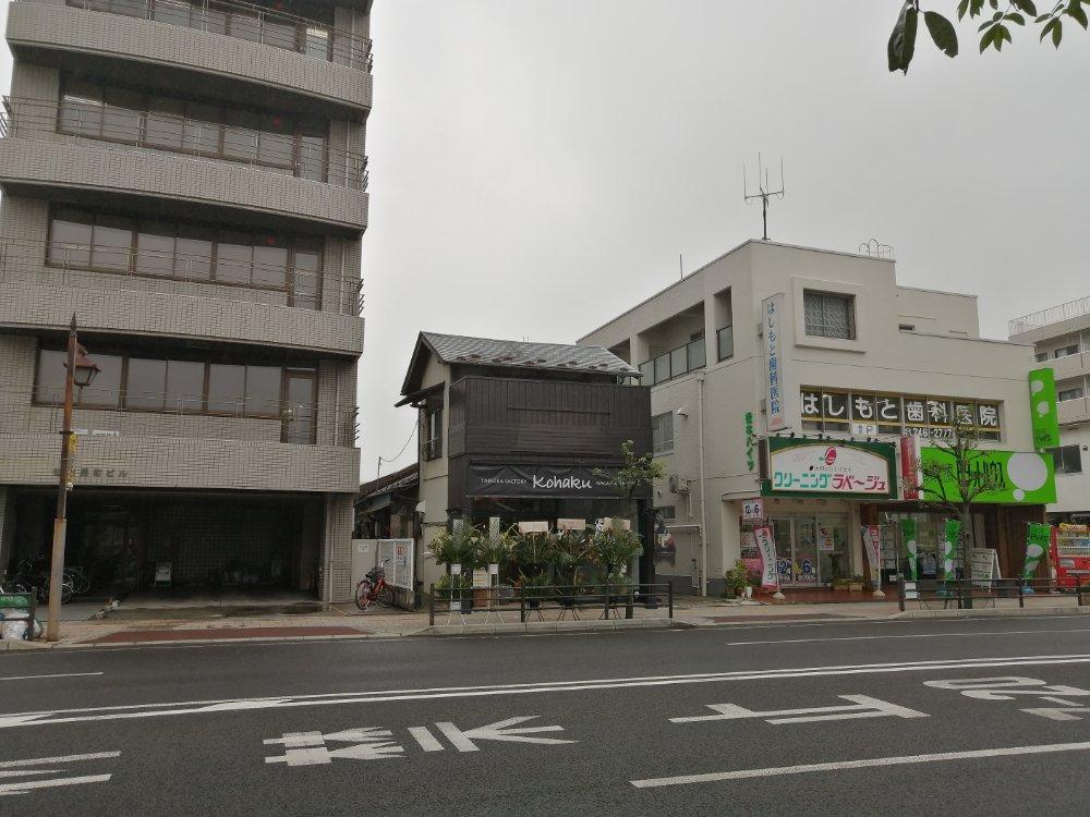 琥珀長町駅間瀬店の場所