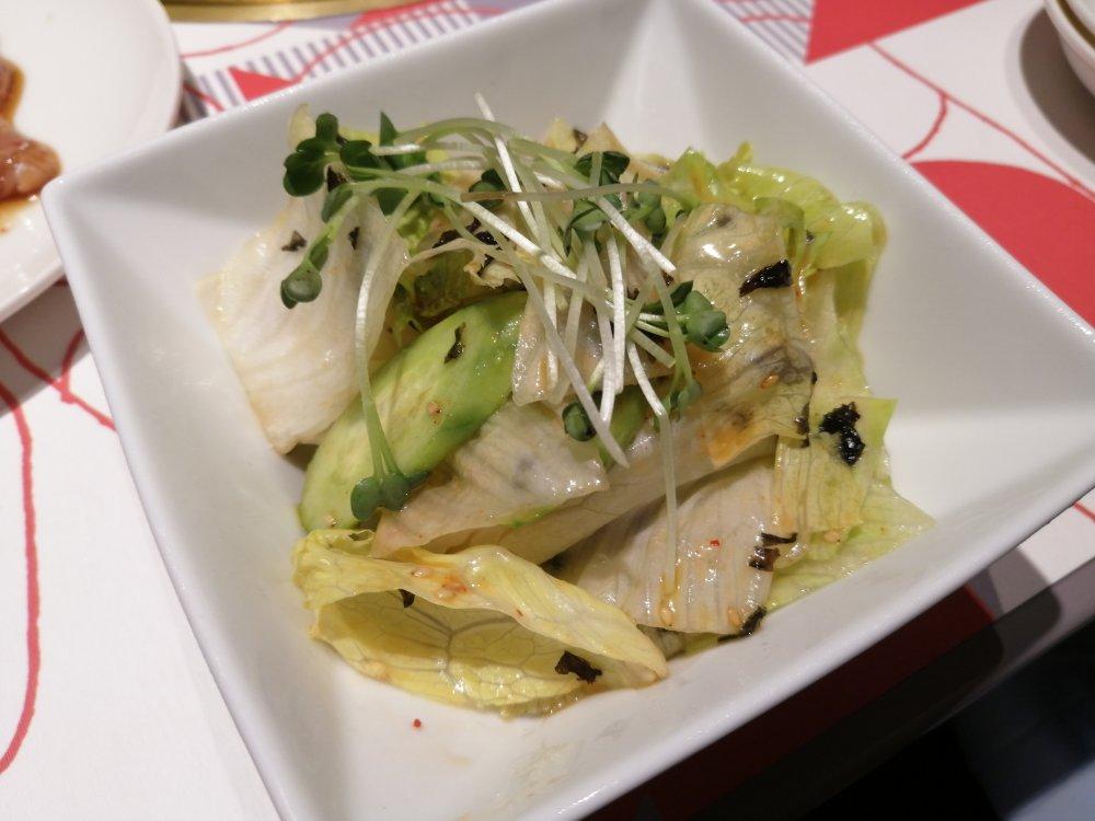 トクジュ風サラダ