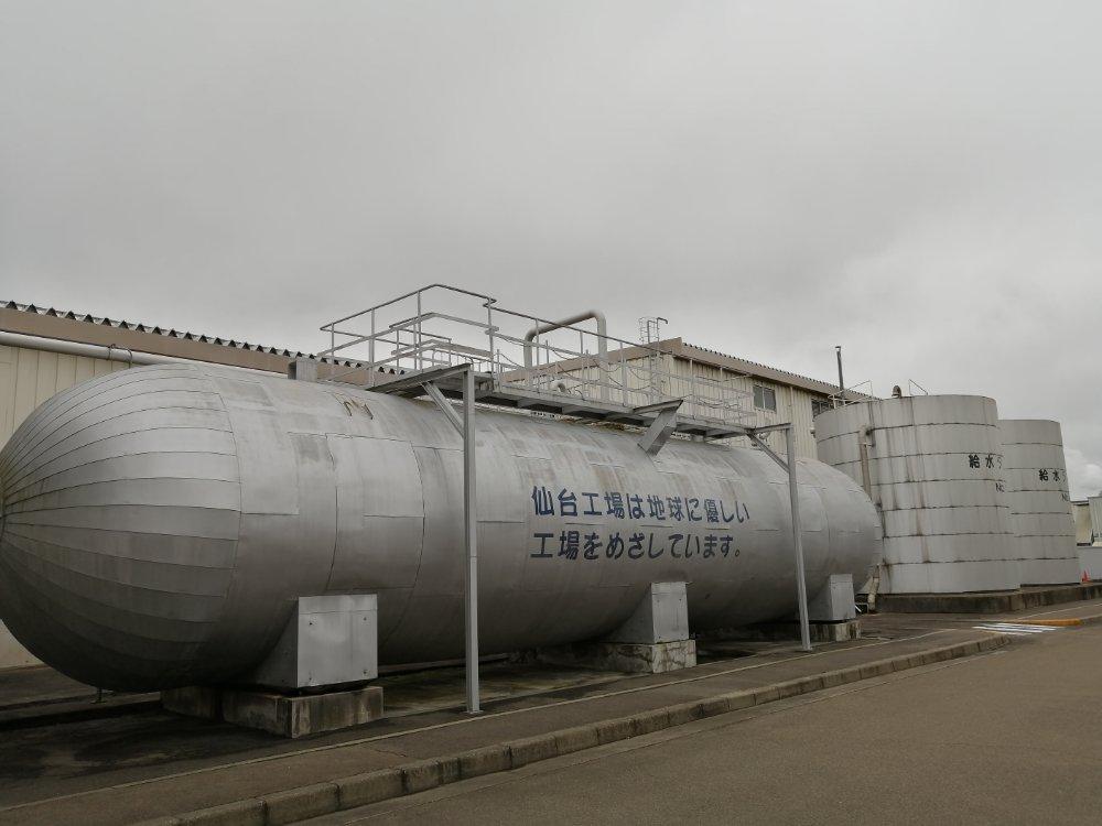 仙台工場は地球にやさしい工場をめざしています
