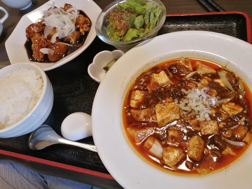 名取市の中華料理 無問題でランチ
