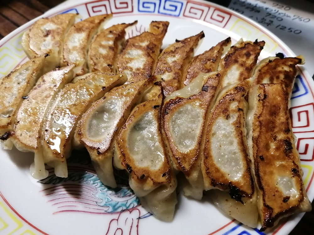 八仙の焼き餃子